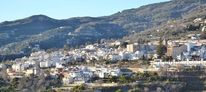 Lanjaron, Alpujarras, Mini bergdorf, Andalusien