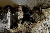 Ruine, Verlassen, Vergangenheit, Einsamkeit