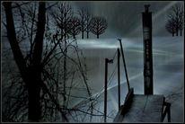 Stille, Mystik, Einsamkeit, See