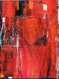 Rot, Pink, Schicht, Struktur