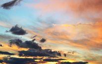 Wolken, Himmel, Abendrot, Fotografie