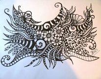 Zeichnen, Tangles, Speckstein, Zentangles