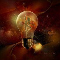 Universum, Frau, Ballett, Stern