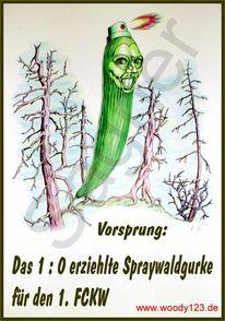 Gift, Kultur, Sprühen, Wald