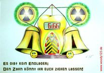 Strahlung, Wecker, Gift, Horror