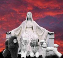 Königin von europa, Digitale kunst, Surreal, Kern
