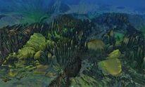 Alge, Blick, Landschaft, Eingang