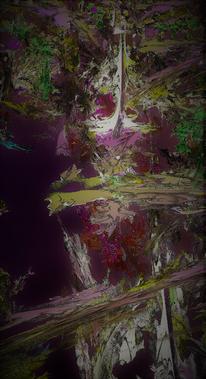 Plötzlich, Tod, Schreck, Digitale kunst