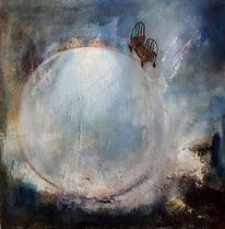 Bett, Acrylmalerei, Malerei