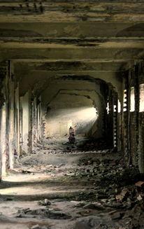 Stein, Licht, Schatten, Gefängnis