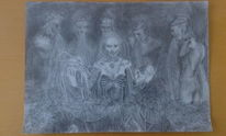 Düster, Was zur hölle, Undefiniert, Zeichnungen