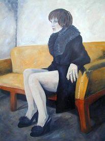 Mantel, Ölmalerei, Malerei, Figural