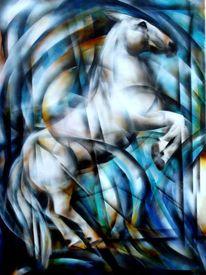 Airbrush, Pferdemalerei, Malerei,