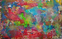 Farben, Rot, Grün, Malerei