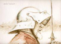 Helm, Mittelalter, Rüstung, Ritter