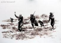 Ww1, Militär, Angriff, Somme