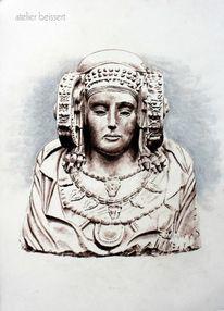 Büste, Elch, Historie, Spanien