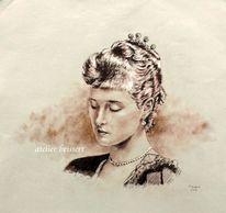 Prinzessin, Deutschland, Hessendarmstadt, Frauenportrait