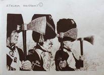 Schwarzpulver, Reiter, Allied, Bivouac