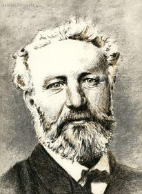 Schriftsteller, Portrait, Verne, Römer