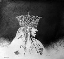 Krone, Europa, Rumänien, Zeichnung