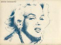 Schauspieler, Filmikone, Marilyn monroe, Sängerin
