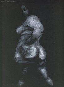 Gesäß, Rücken, Frau, Curvy