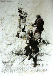 Kanone, Schwarzpulver, Living history, Ritter