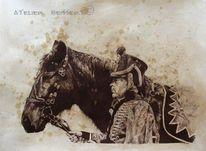 Hussard, Zeichnung, Escarmouche, Lautriche