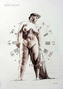 Uhr, Rubens, Zeit, Curvy