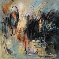 Abstrakte kunst, Expressionismus, Herbst, Ausdrucksmalerei