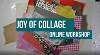 Collage class, Abstrakt, Collage, Online classes