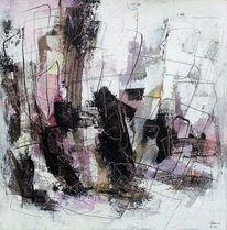 Abstrakte kunst, Acrylmalerei, Expressionismus, Gefühl