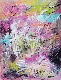 Expressionismus, Abstrakt, Dynamik, Abstrakte malerei