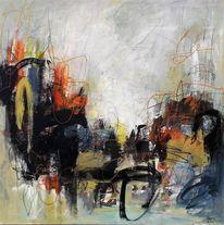 Ausdrucksmalerei, Gefühl, Abstrakt, Pastellmalerei