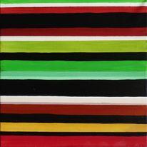 Inchie, Streifen, Stripes, Quadrat