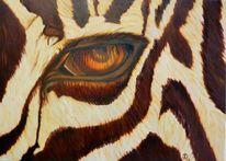 Zebra, Afrika, Wilde tiere, Malerei