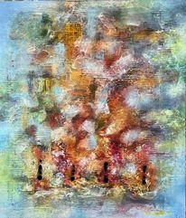 Wirbel, Abstrakt, Bunt, Farben