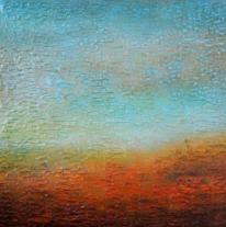 Türkis, Blau, Landschaft, Himmel