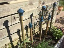 Gartenkeramik, Spitze, Stange, Rankhilfe