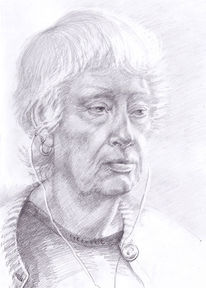 Gegenständlich, Portrait, Realismus, Frau