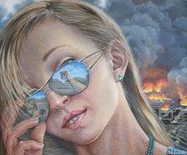 Realismus, Gegenständlich, Apokalypse, Portrait
