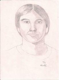 Bleistiftzeichnung, Mann, Zeichnungen