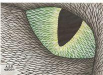 Augen, Augenblick, Grün, Dispersion