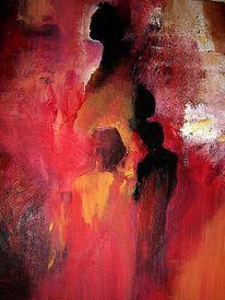 Malerei, Menschen, Gedanken