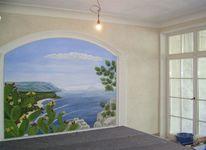 Wandmalerei, Illusionsmalerei, Malerei