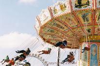 Volksfest, Oktoberfest, Kettenkarussell, Bewegung