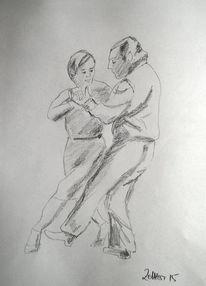 Tänzer, Bewegung, Zeichnung, Tanz