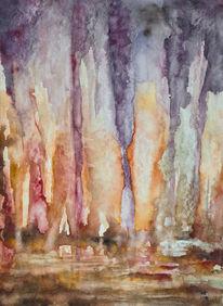 Surreal, Farben, Höhle, Improvisation