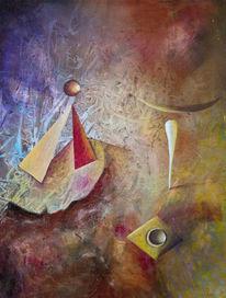 Abstrakt, Kandinsky, Seiltanz, Struktur
